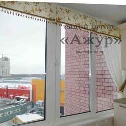 Легкий декор окна
