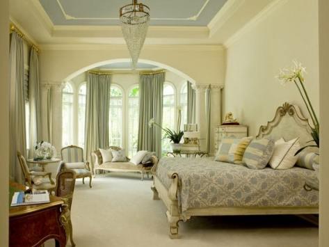 шторы в спальню на эркер